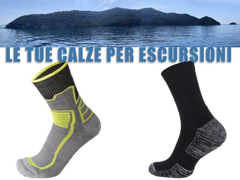 Le calze per escursioni